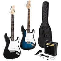 eBay Deal: Full Size Electric Guitar + 10 Watt Amp + Gig Bag Case + Guitar Strap Beginners $65 Shipped