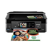 Epson Expression Home XP-430 Wireless Color Inkjet Small-in-One Printer, Scanner, Copier, Photo $  49.99 + Free Shipping