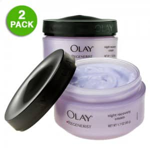 2-Pack of 1.7oz Olay Regenerist Night Recovery Cream for $14.99 + free shipping