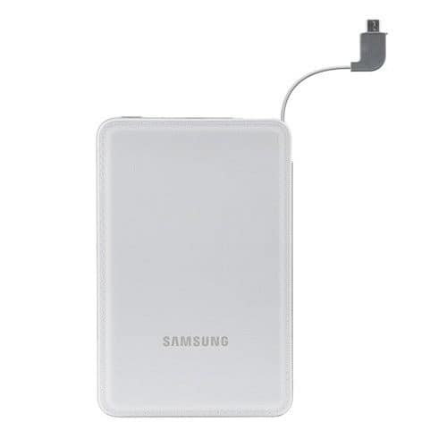 Samsung Universal 3100mAh Portable External Battery Charger (White) $7.99 w/ free shipping at Keystone Deals