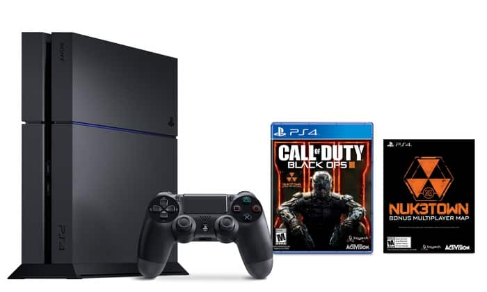 PlayStation 4 500GB Console with Call of Duty: Black Ops III $320 Shipped