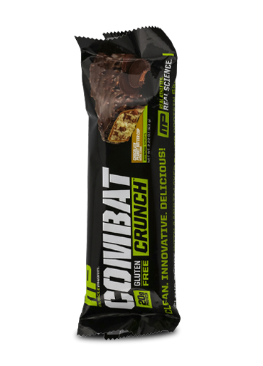 48-Count MusclePharm Combat Crunch Protein Bars (Chocolate Chip) $62 + Free Shipping