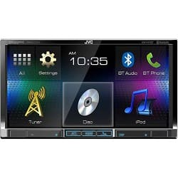 """JVC DVD/CD/USB Receiver with 7""""  WVGA Touch Panel Monitor & Built-in Bluetooth (Refurbished) for $189.99 + free shipping"""