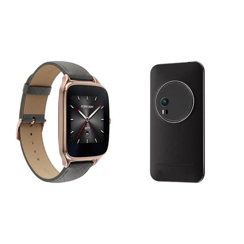 64GB Asus ZenPhone Zoom GSM Unlocked Smart Phone + ZenWatch 2 Smartwatch + ZenPower 10050mAh Battery Pack + $50 B&H Gift Card - $364 w/ free shipping - B&H Photo