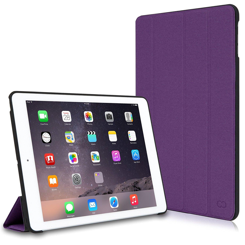 "CaseCrown: Omni Case for iPad Air 2 (Purple), 13"" Macbook Pro Folio Book Cover Case $5 & More + Free S&H"