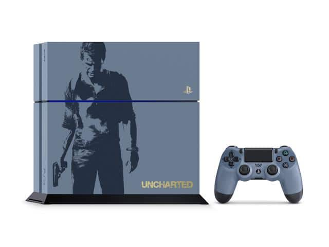 PlayStation 4 Console Uncharted 4 Limited Edition 500GB Bundle (Refurbished) for $225 + free shipping w/ MasterPass checkout
