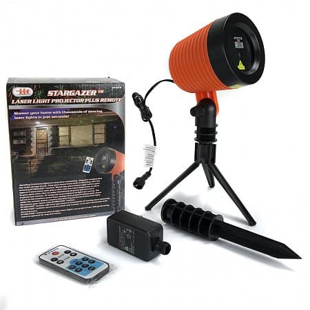 StarGazer Laser Light Holiday Projector w/ Remote $29.24 + free shipping