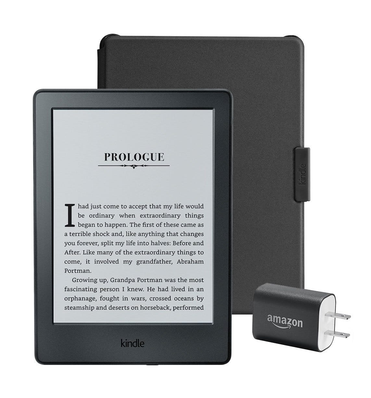 Amazon: Kindle Essentials Bundle $84.97, Kindle Paperwhite Essentials Bundle $129.97 or Paperwhite Travel Bundle $196.96 + Free Shipping