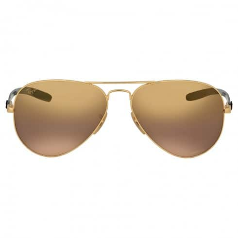 Ray-Ban Men's Polarized Mirror Sunglasses (3 Styles) $100 + Free Shipping