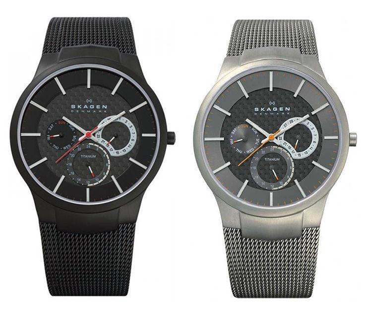 Skagen Men's Chronograph Watch w/ Milanese Band $64.95, Nautica Men's Chronograph Watch $75 + Free Shipping