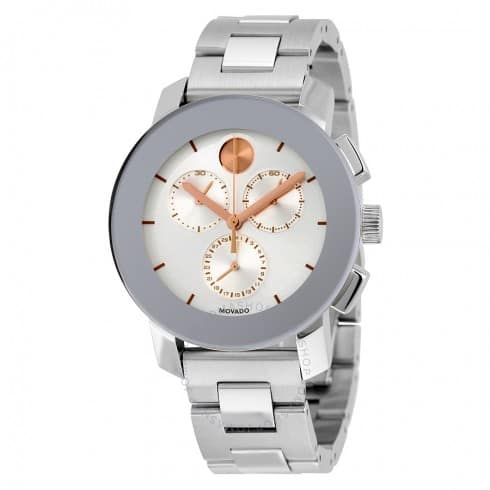 Movado Bold Unisex Chronograph Watch $250 + Free Shipping