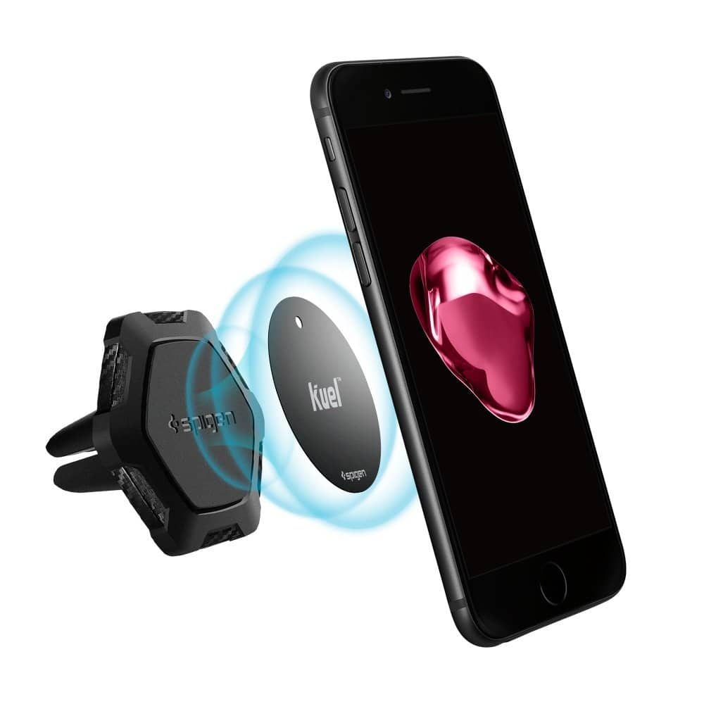Spigen Kuel QS11 Magnetic Car Mount Air Vent Phone Holder $5.59 + Free Shipping w/ Prime