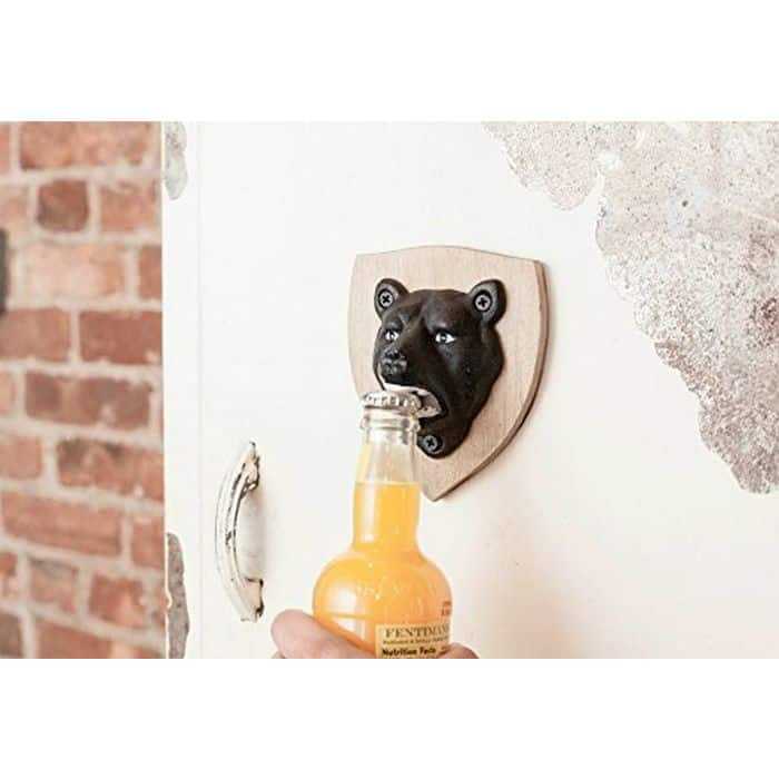Kikkerland Magnetic Bear Bottle Opener $10 + Free shipping $9.99