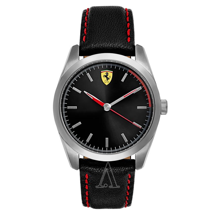 Ferrari Men's D50 Watch w/ Leather Strap $60 + Free Shipping $59.99