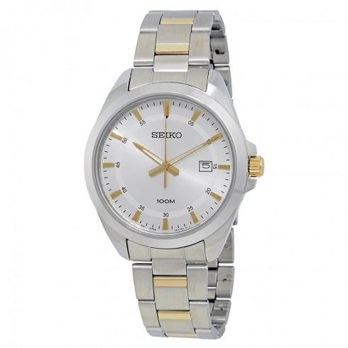 Seiko Men's Two-Tone Watch w/ Stainless Steel Bracelet $60 + Free Shipping