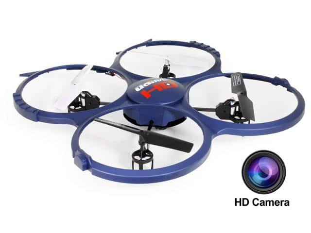 UDI Discovery U818A-1 2.4GHz 4CH RC Quadcopter w/ HD Video Camera & Bonus Battery $34.99 + free shipping