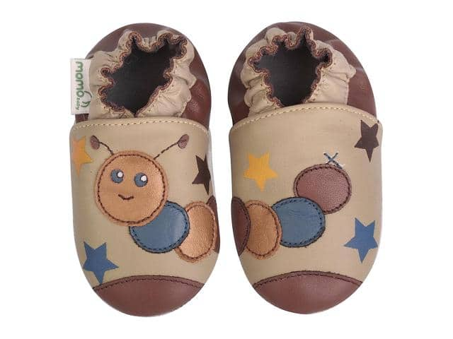 Momo Baby Soft Sole Leather Shoes (various styles) $11.99 + free shipping