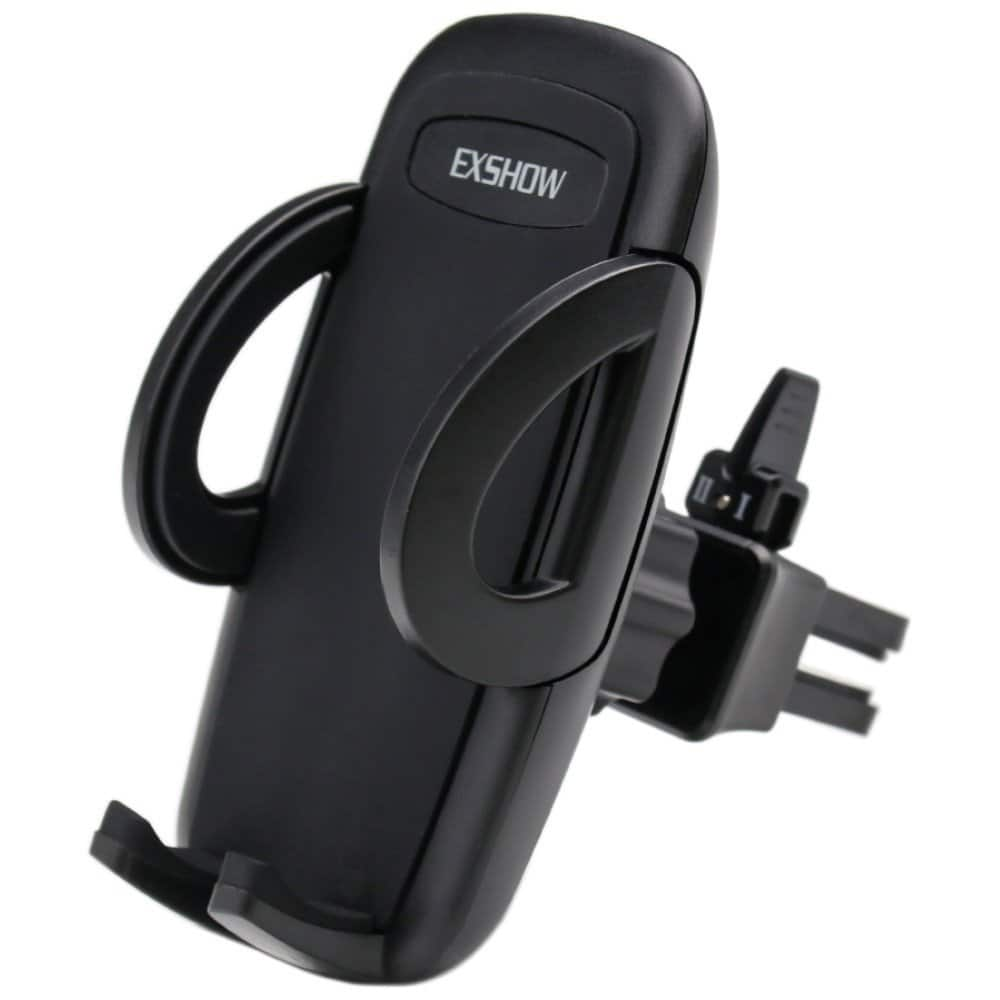 "Exshow Universal Smartphone Air Vent Car Mount w/ Swivel Adjustment (up to 6"" phones) $4.99 - Free Shipping w/ Prime or $25+"