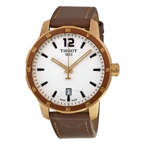 Tissot Quickster Men's Watch w/ Leather Strap $139 + Free Shipping