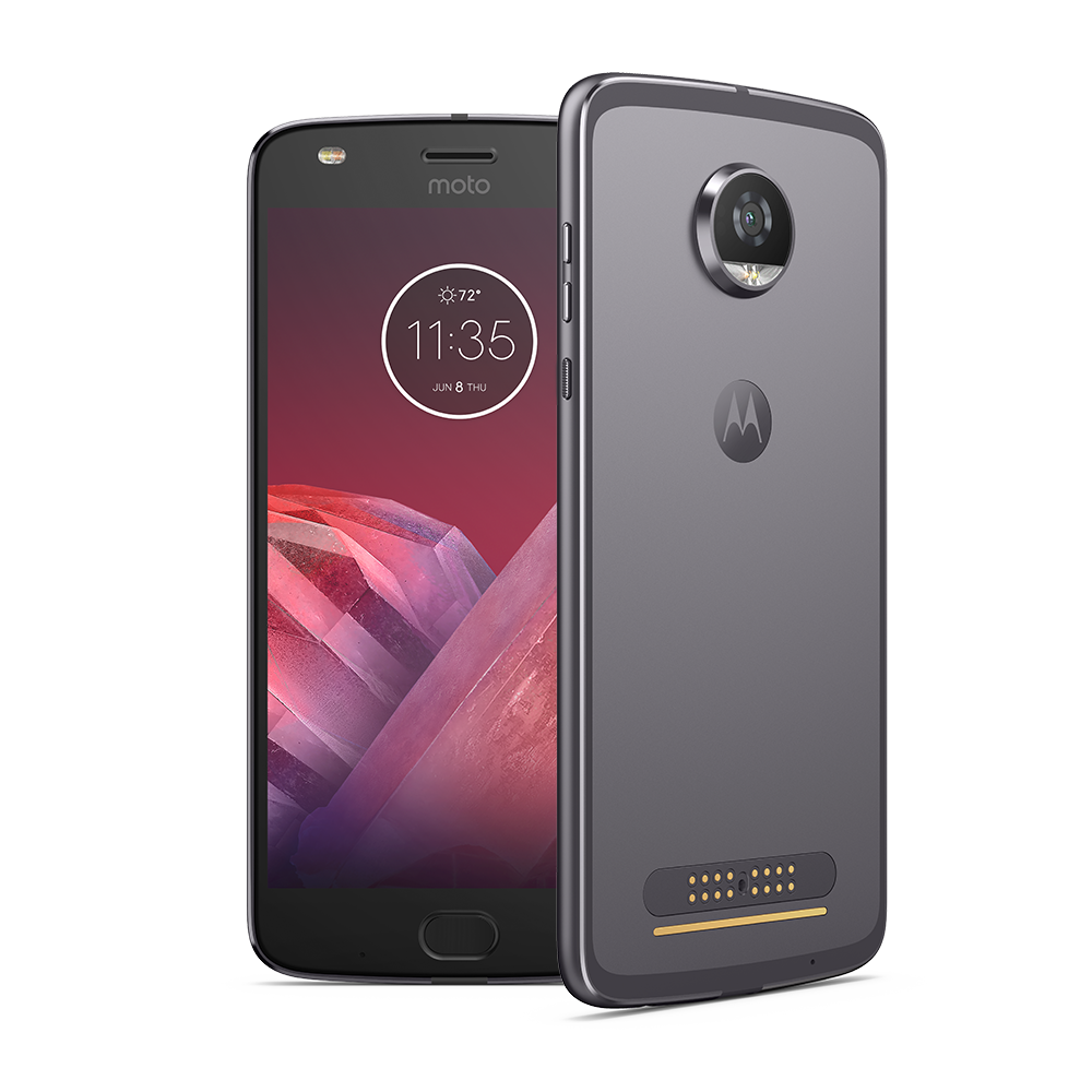 64GB Motorola Z2 Play Unlocked Smartphone (Gray or Gold) $450 + Free shipping $449.99