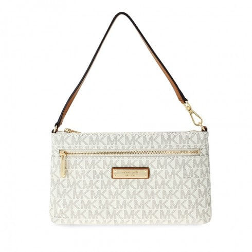 8b10d3e08ec161 Michael Kors Jet Set Large Wristlet (Vanilla or Brown) $44.99 + Free  Shipping
