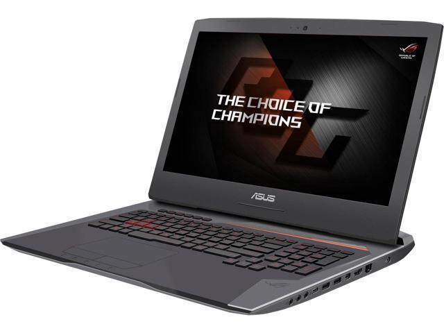 """ASUS ROG G752VS-XB72K 17.3"""" Intel Core i7 6th Gen 6820HK (2.70 GHz) NVIDIA GeForce GTX 1070 VR Ready 32 GB Memory 256 GB SSD 1 TB HDD $1549.99 + FS"""