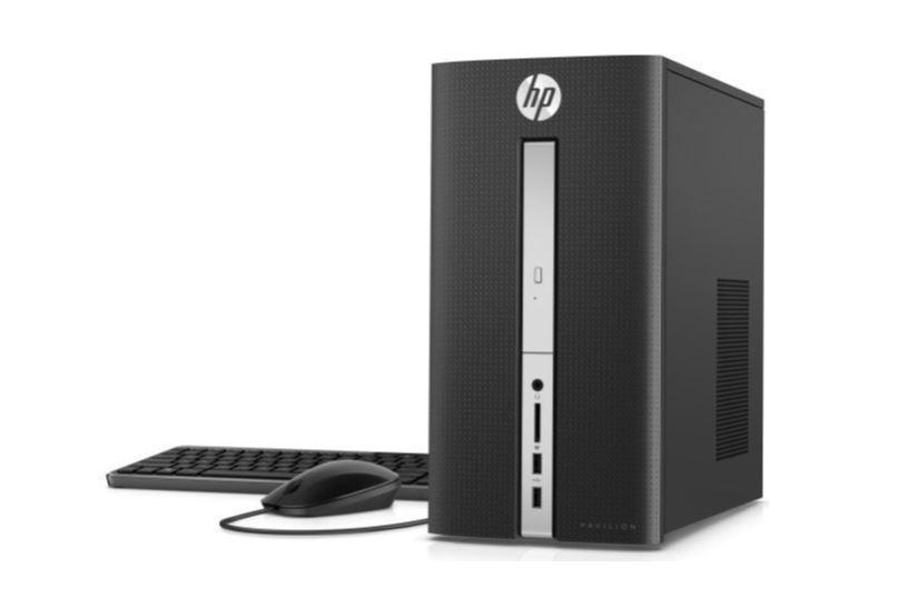 HP Pavilion Desktop i3-6100T 8GB 1TB GeForce GTX 750 Ti Win 10 for $380 + Free Shipping
