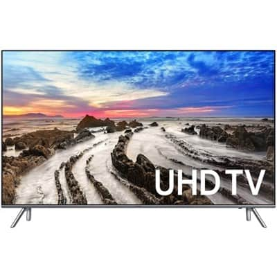 "75"" Samsung UN75MU8000 4K UHD HDR Smart LED HDTV $2,297.99 with free shipping $2297.97"