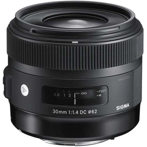 Focus Camera Sigma Art Lens Sale - Sigma 30mm f/1.4 Art  $449 (nikon or canon), Sigma 18-35mm f/1.8 $699 and many more