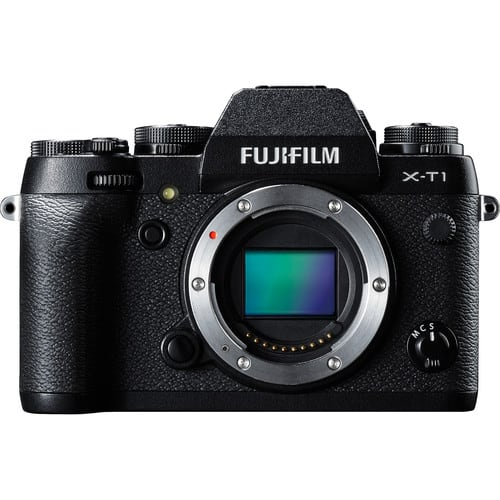 Fujifilm X-T1 Mirrorless Digital Camera (Body Only) + Extras: SDHC Card, Holster Bag & More for $649 + free shipping at B&H