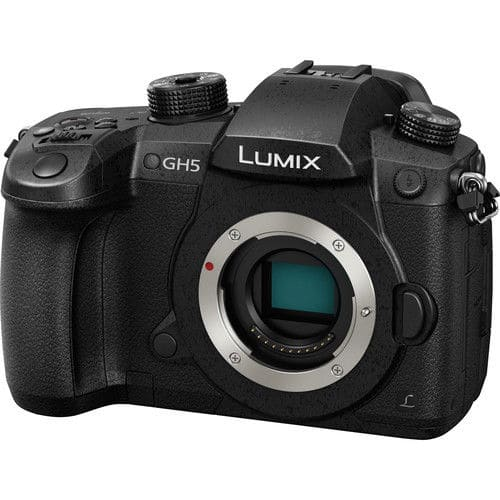 Panasonic Lumix DC-GH5 Mirrorless Micro Four Thirds Digital Camera (Body Only) $1499.99 + Free Shipping