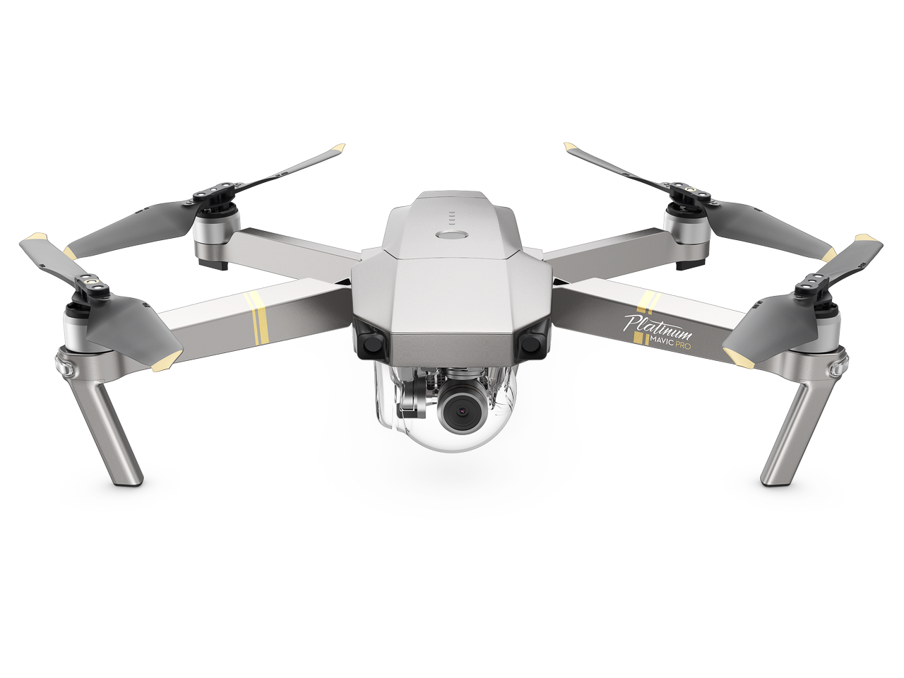 DJI Mavic PRO Platinum Quadcopter Drone w/ 4K Camera & 3-Axis Gimbal + ~$161 EggPoints $1074 w/ MasterPass + Free S&H