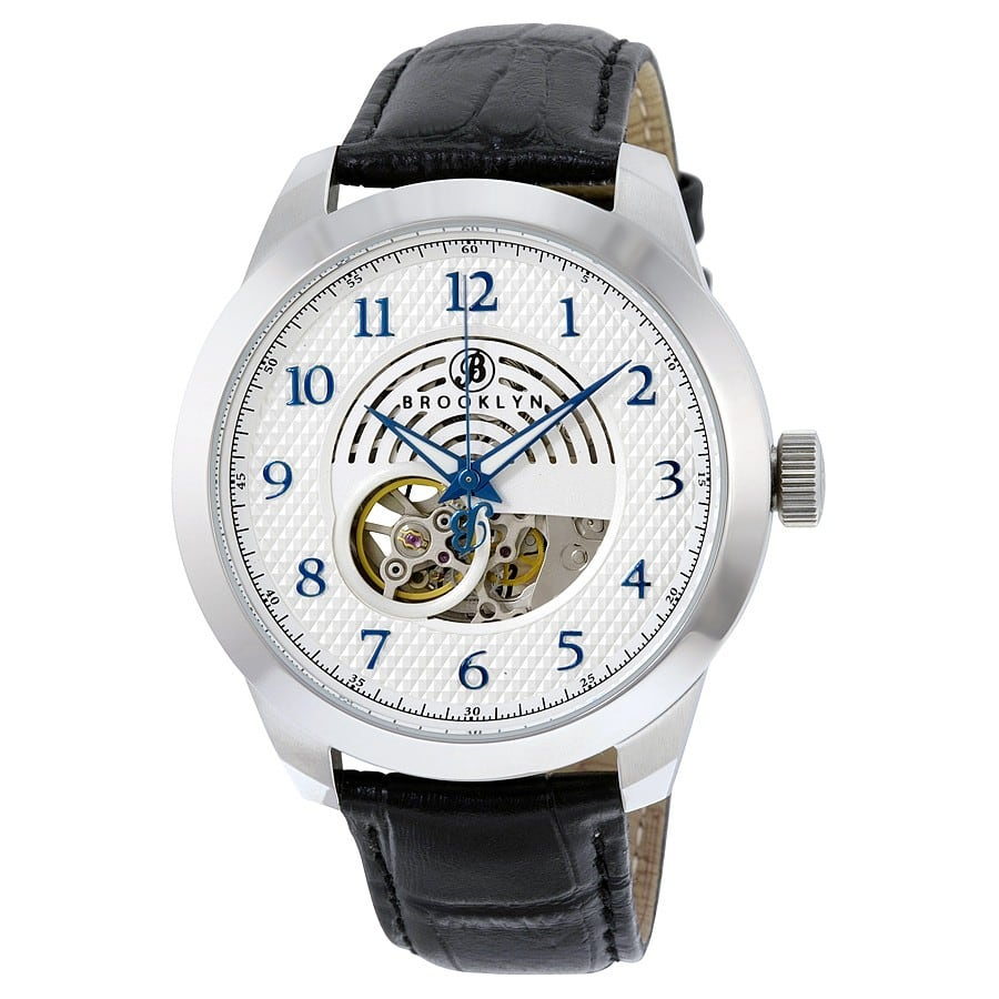 Brooklyn Watch Co. Men's Carlton Skeleton Automatic Watch $90 + Free Shipping