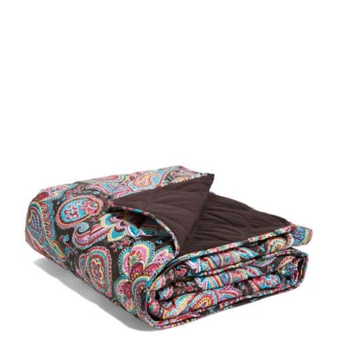 Vera Bradley Quilted Fleece Blanket $24.99 + Free Shipping