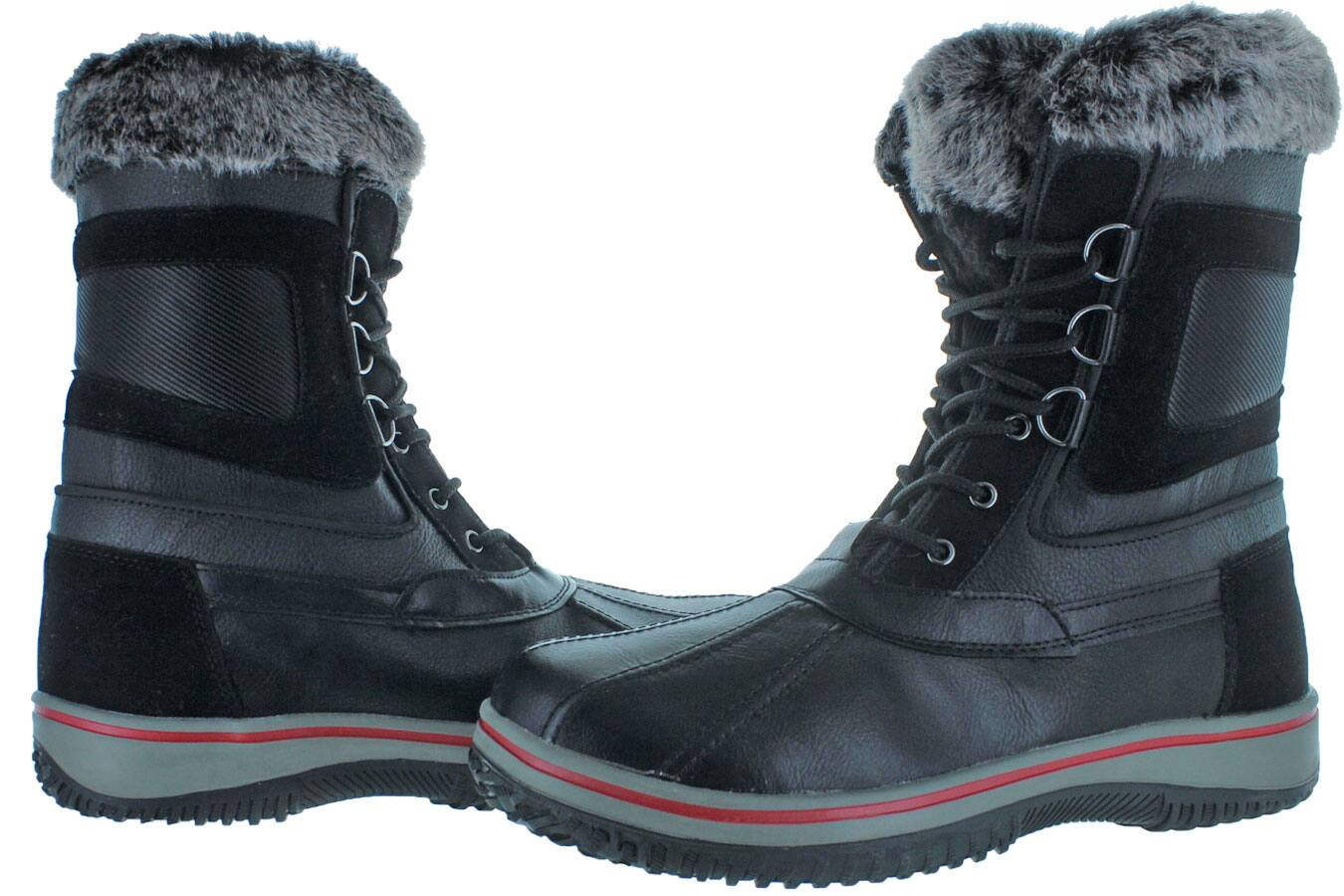 Revenant Men's Duck Toe Faux Fur Winter Snow Boots $40 + Free Shipping