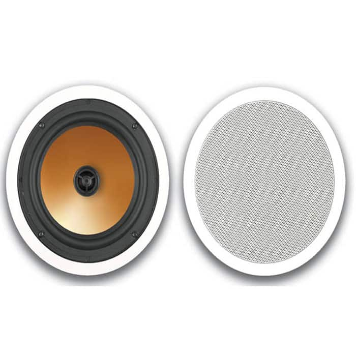 BIC Acoustech HT-8C 2-Way In-Ceiling Speaker (Pair, White) $39 + Free Shipping
