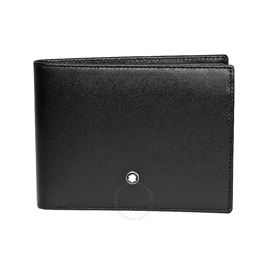 Montblanc Meisterstuck Leather Wallet (Black) $165 + Free Shipping