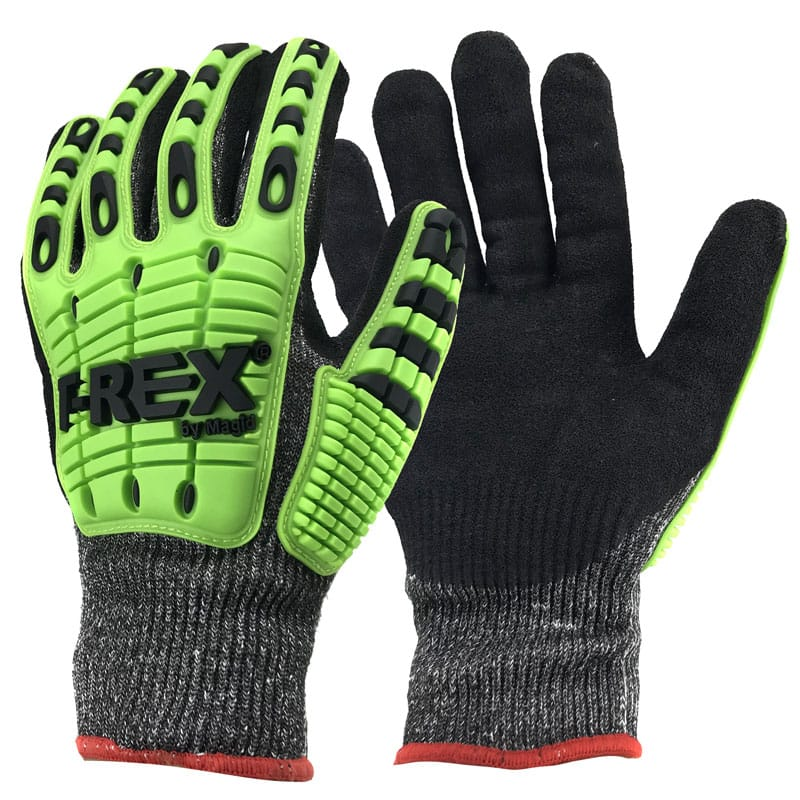Flex Series Impact & Cut Resistant Work Gloves $6.49 + free shipping