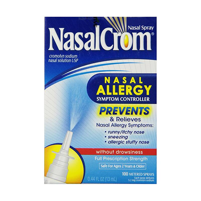 NasalCrom Nasal Allergy Symptom Controller $5.99 + free shipping
