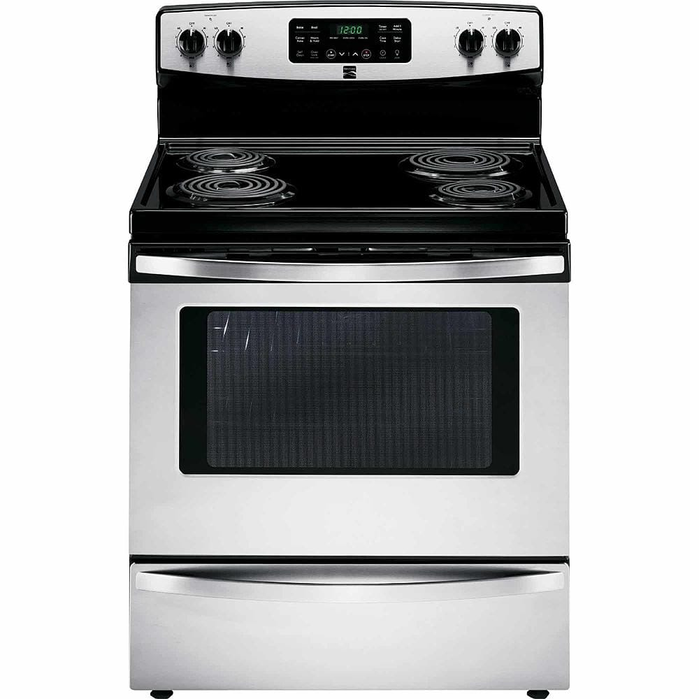 Kenmore Appliances: Kenmore 5.4 cu. ft. Self-Cleaning Electric Range w / Convection Oven (Stainless Steel) $414.99 & More + Free Shipping