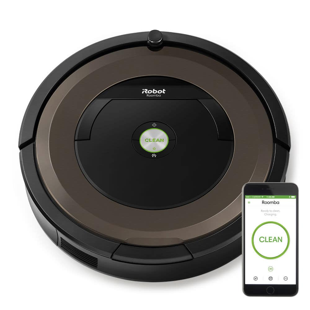 iRobot Roomba 890 WiFi Connected App-Controlled Robotic Vacuum Cleaner + $100 Dell eGift Card $499.98 + free s/h