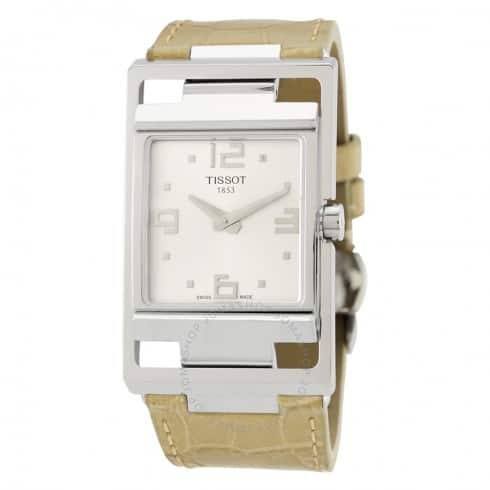 Tissot Women's My T Watch w/ Leather Strap $135 + Free Shipping