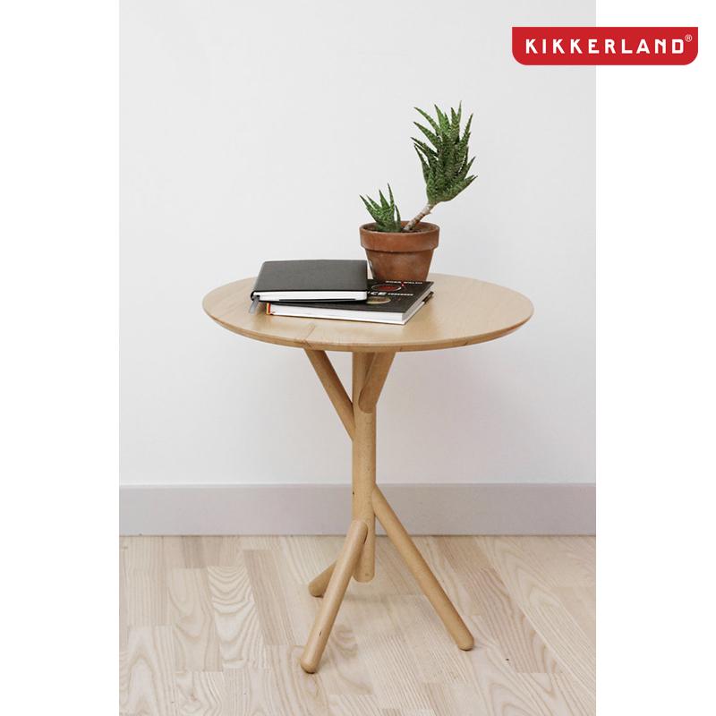 Kikkerland Beechwood Stok Side Table $15.99 + free shipping