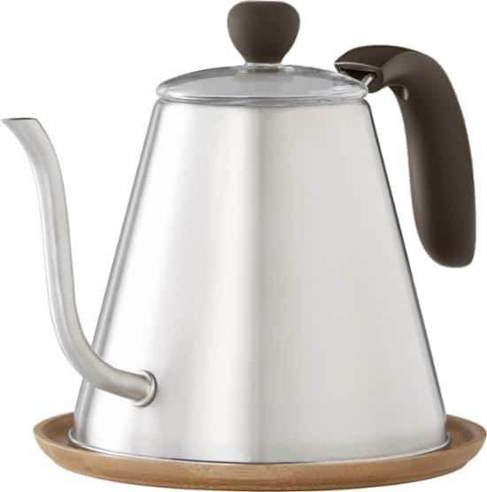 Caribou Coffee  34-Oz. Stainless Steel Kettle (Silver) $10 + Free Store Pickup