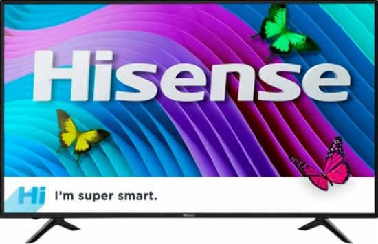 "50"" Hisense 50DU6070 4K UHD Smart LED HDTV $299.99 + Free Shipping"