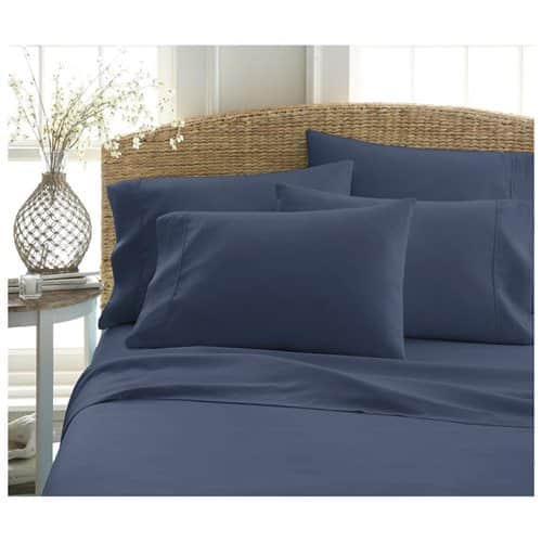 Home Collection Premium Ultra Soft 6-Piece Bed Sheet Set (various colors) $19.99 AC + Free Shipping