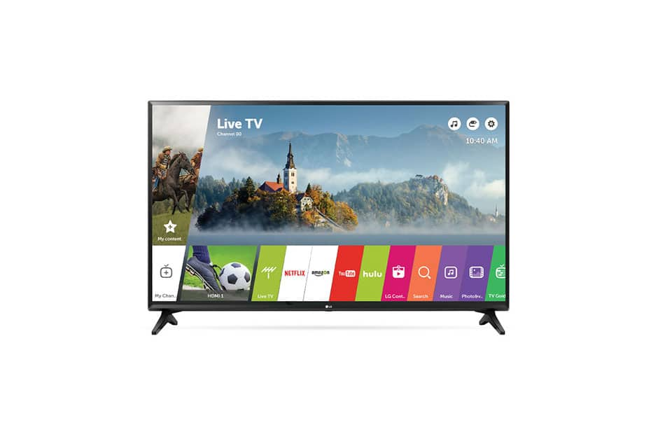 "LG 43"" LED Smart TV LJ5500: $248.99 AC + Free Shipping"