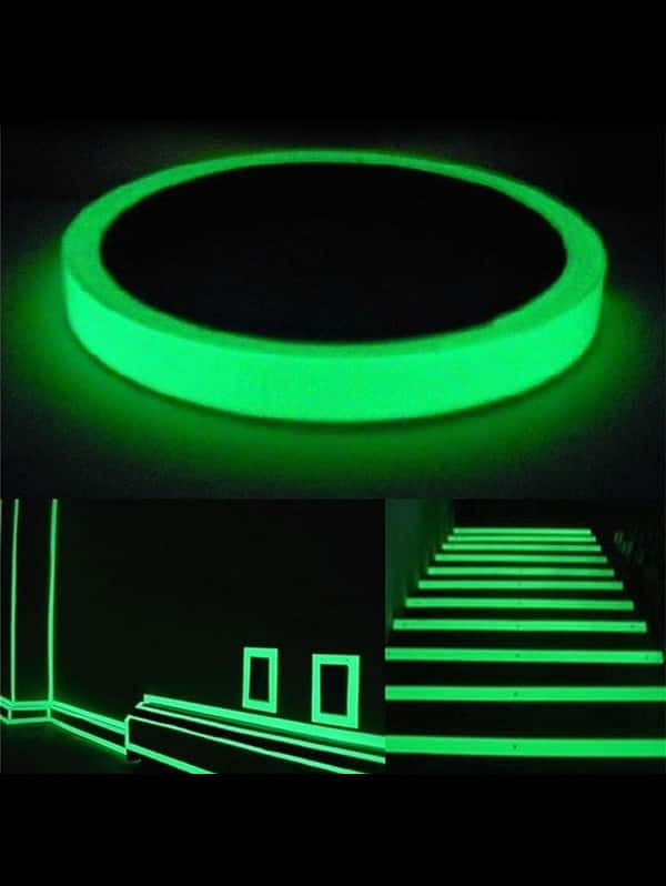 Multifunctional DIY 3M Glow Luminous Tape - White $2 + Free Shipping