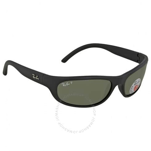 Ray-Ban Rectangular Polarized Sunglasses (Green) $69.99 + Free Shipping
