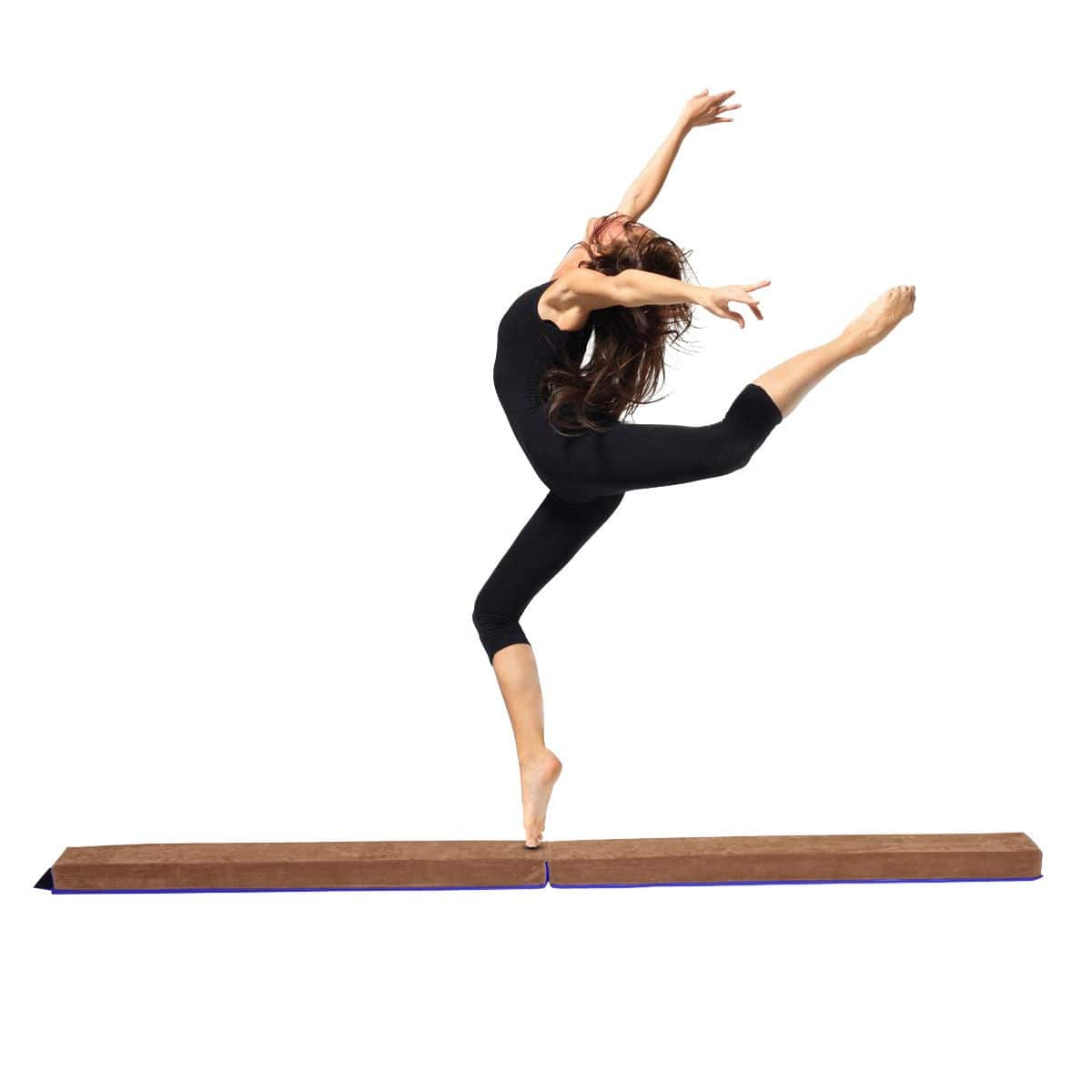 Costway 8' Sectional Gymnastics Floor Balance Beam $42.95 + Free Shipping